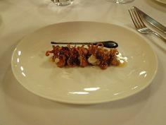 Baby squids in their own ink @ Restaurant Asador Etxebarri