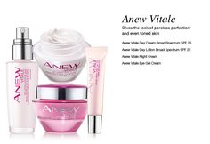 Anew Vitale.  If you want to shrink the look of pores, diminish the look of dullness, and see more even skin tone, then this is the skin care product for you.  Shop http://marionfielder.avonrepresentative.com #Anew #AnewVitale #pores #skintone #Avon