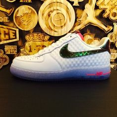 Nike Air Force 1 Low CMFT PRM QS- White & Hyper Punch