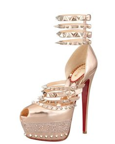 Isolde Pump by Christian Louboutin at Bergdorf Goodman.