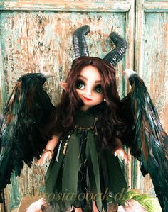 Young Maleficent Ooak doll