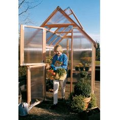 Have to have it. Sunshine Mt. Hood 6 x 8 Foot Greenhouse $2099.99