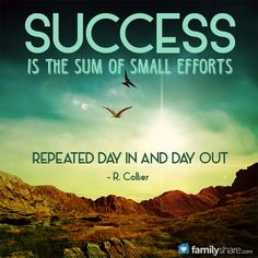Success is the sum of small efforts repeated day in and day out. http://folakeminuggets.blogspot.com/p/for-free-15-minutes-for-motivational.html
