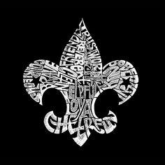 Boy's Long Sleeve T-shirt - 12 Points of Scout Law Fleur De Lis Design Created Boy Scouts, Boy Scout Oath, Scout Mom, Eagle Scout, Htv Vinyl Ideas, Cub Scout Shirt, Pop Art, Survival, Cubs
