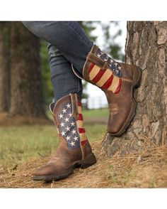 Durango Women's Lady Rebel Patriotic Boot  http://www.countryoutfitter.com/products/30348-womens-lady-rebel-patriotic-boot?lhs=u_p_p_n_a&lhb=co&lhc=womens_boots&lhg=durango&utm_source=pinterest&utm_medium=social