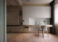 詠義室內設計Very Space Home Office Space, Home Office Design, Interior Design Kitchen, Study Table Designs, Study Room Design, House Furniture Design, House Design, Home Furniture, Home Bedroom