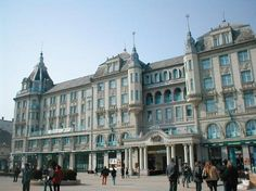 Debrecen: Grand Hotel Aranybika, Hungary ... Book & Visit HUNGARY now via www.nemoholiday.com or as alternative you can use hungary.superpobyt.com.... For more option visit holiday.superpobyt.com Places Around The World, Around The Worlds, Amazing Places, Beautiful Places, Organic Architecture, Bosnia, Fun Art, Grand Hotel, Macedonia