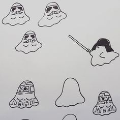 Boo wars 🙌🏻 #boo#uamou#starwars#drawing#maythe4th