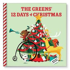 We are sending this to our 86 year old mother/Manoo/Great GrandManoo!  We will celebrate the 12 days of Christmas with her again but in a new way!