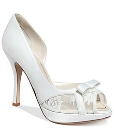 Lace heels @ Macy's