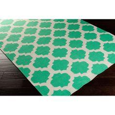 Hand Woven Oscar Moroccan Trellis Geometric Flatweave Wool Rug (3'6 x 5'6) - Overstock™ Shopping - Great Deals on 3x5 - 4x6 Rugs