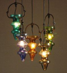mahya şeklinde sarkıt aydınlatma modeli