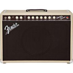 Fender Super-Sonic 22 22W 1x12 Tube Guitar Combo Blonde/Oxblood