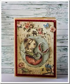kakichka cards  - santoro mirabelle paper card
