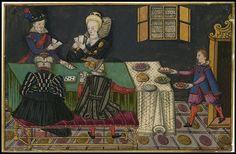 "Madame de Pompadour (""Royal, military and court costumes of the time of. Art Costume, Costumes, Jaime I, Jacobean, Italian Renaissance, Italian Artist, 14th Century, Illuminated Manuscript, Middle Ages"