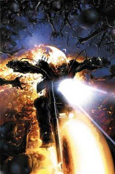 Marvel Announces New 'Ghost Rider' Series - Sister and Brother Ghost Rider Johnny Blaze, New Ghost Rider, Ghost Rider Marvel, Marvel Comics, Marvel Art, Marvel Heroes, Marvel Avengers, Marvel Comic Character, Marvel Characters