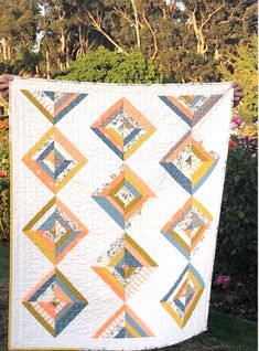 Colchas Quilting, Quilt Square Patterns, Patchwork Quilt Patterns, Beginner Quilt Patterns, Modern Quilt Patterns, Quilting Tutorials, Quilting Projects, Quilting Ideas, Sewing Projects