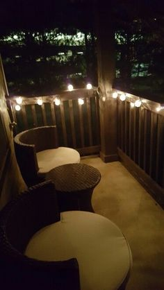 Great look for an apartment balcony