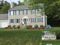 Colonial Home Landscapes On Pinterest Front Yard