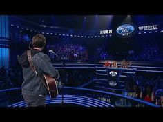 "American Idol: 15 Boys Perform: Sam Woolf -- Sam Woolf has come a long way since his original audition. With ""Babylon"" by David Gray, Sam wanted to show the world he belongs in the Top 13! -- http://wtch.it/46QPf"