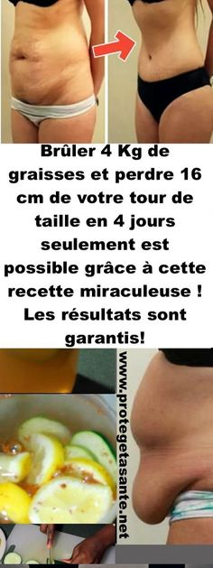 Brûler 4 Kg de graisses et perdre 16 cm de votre tour de taille en 4 jours seulement est possible grâce à cette recette miraculeuse ! Les résultats sont garantis! Constipation Remedies, Body Challenge, Anti Cellulite, Health Remedies, Tour, Food And Drink, Health Fitness, Abs, Nutrition