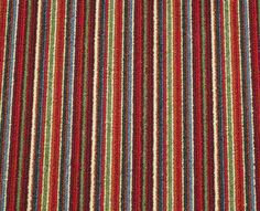 Perfect warmer-upper for cool hallways - Inka Red stripes Striped Carpets, California Ranch, Cheap Carpet, Ranch Style, Red Stripes, Entrance Halls, The Unit, Crows, Hallways