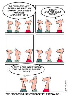 Who built the UI? #comic