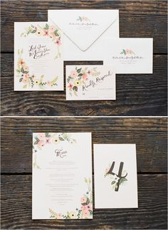 possibly the prettiest wedding suite ever | rifle paper co.