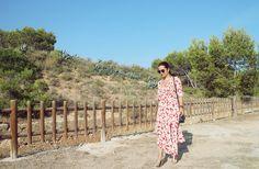 Floral print dress * AURORA VEGA