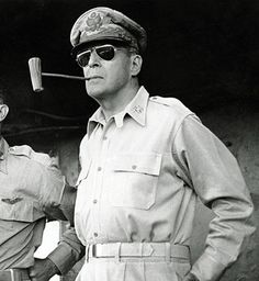 General Douglas MacArthur in the Philippines smoking his trademark corn cob pipe. Douglas Macarthur, Corn Cob Pipe, Corn On Cob, Jaeger Lecoultre Reverso, Best Speeches, Cigar Smoking, Pipe Smoking, Ray Ban Sunglasses Outlet, Sports Sunglasses