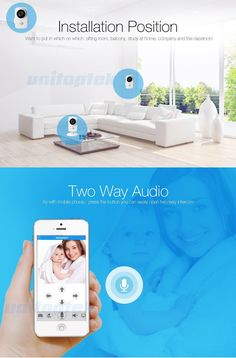HD 720P Mini Wifi IP Camera Home Protection Wireless Baby Monitor Camera Security iPhone