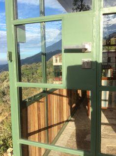 Tea house doors