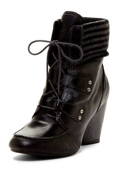Whynot Lace-Up Bootie