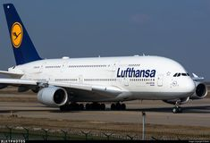 D-AIMB. Airbus A380-841. JetPhotos.com is the biggest database of aviation photographs with over 3 million screened photos online! Airbus A380, Boeing 747, Air Photo, Civil Aviation, Aeroplanes, Photo Online, Airports, Military Aircraft, Names