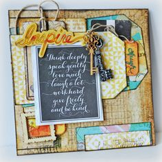 Kelly Foster: All The Pretty Things: **Prima's National Scrapbook Day Blog Hop**