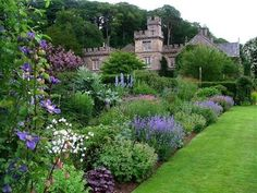 Those beautiful English gardens and brick/stone structures