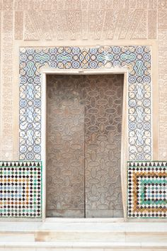 Tile at the Alhambra in Granada | photography by http://www.emmehayes.net/