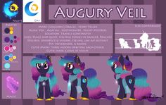 Reference Sheet: Augury Veil - Showstyle by ArcadianPhoenix on DeviantArt