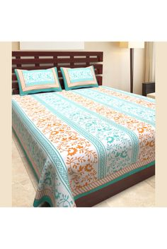 Bed Sheets Online, Bedspreads, Double Beds, Online Shopping Stores, Presents, India, Base, Traditional, Colour