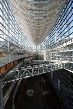 Tokyo International Forum by Rafael Viñoly