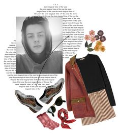 """Luke Grant-Muller"" by asmin ❤ liked on Polyvore featuring Rebecca Taylor, FrenchTrotters, Accessorize, Valentino, lukegrantmuller, skam and hermantommeraas"