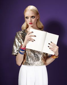 Ladies & Gents magazine  FOTOGRAFA | LUCIA GIACANI STYING | SIMONETTA DA PASCA MODEL | ANASTAZJA NIEMEN MAKE UP | ELENA PIVETTA HAIR | MARCO TESTA MANICURE | ROSIMAR VIANAPER LOCATION | G2 STUDIO MILANO #Ladiesmagazine #ANASTAZJANIEMEN #luciagiacani