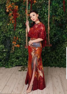 Ideas For Vintage Fashion Modern Outfits Woman Clothing Modern Outfits, Boho Outfits, Trendy Outfits, Fashion Outfits, Batik Kebaya, Batik Dress, Kebaya Bali, Kebaya Modern Dress, Indonesian Kebaya