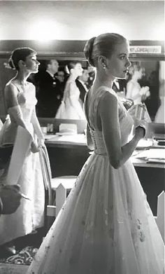 Audrey Hepburn & Grace Kelly You can tell just by how they hold themselves, that they came from different eras.