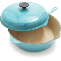 Nice-Le Creuset® Caribbean Deep Covered Sauté Pan, 3¾ qt.