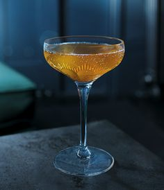 Grey Goose La Poire Ginger Bread Martini cocktail shines with a seasonal twist.