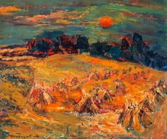 William MacTaggart | 1903-1981 | Cornfields