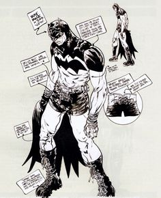 Batman Design by Paul Pope
