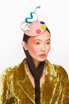 #palette #neonkids #japan #fashion #millinery #hat #ivaksenevich