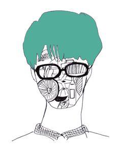 このところの男の子 People Illustration, Lovers, Creative
